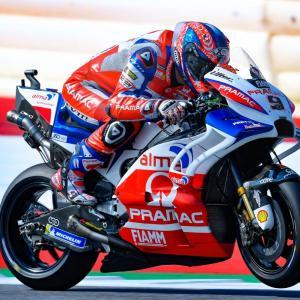 MotoGp: Danilo Petrucci quinto sul traguardo del Gp d'Austria, di Roberto Pagnanini