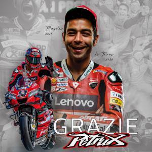 MotoGp: Per Petrucci, l'esperienza in Ducati termina fuori dalla zona punti