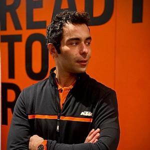 MotoGp: Danilo Petrucci, la prima foto con i colori KTM