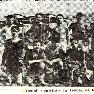 1948-49. Squadra Pulcini (Articolo L'Unità del 02-06-1949)