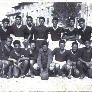 1949-05-06. Partita a San Francesco (Terni) 2-2 (2 goal Bellaccini)