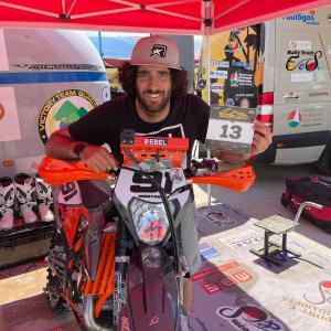 Motorally: Tommaso Tommy Montanari al Motorally di Albania