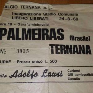 1969-08-24. Ternana-Palmeiras 0-2