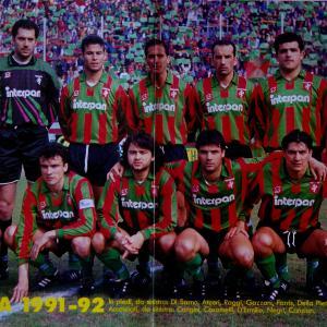 1991-92. Squadra