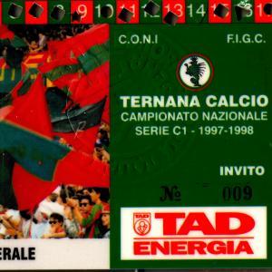 1997-98. Abbonamento