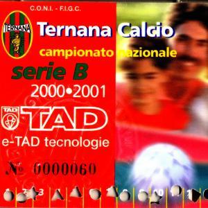 2000-01. Abbonamento