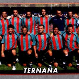 2008-09. Figurine Panini. Squadra