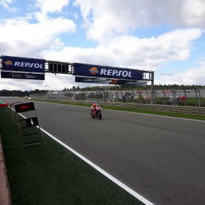 MotoGp: Danilo Petrucci in pista con la Ducati ufficiale, di Roberto Pagnanini