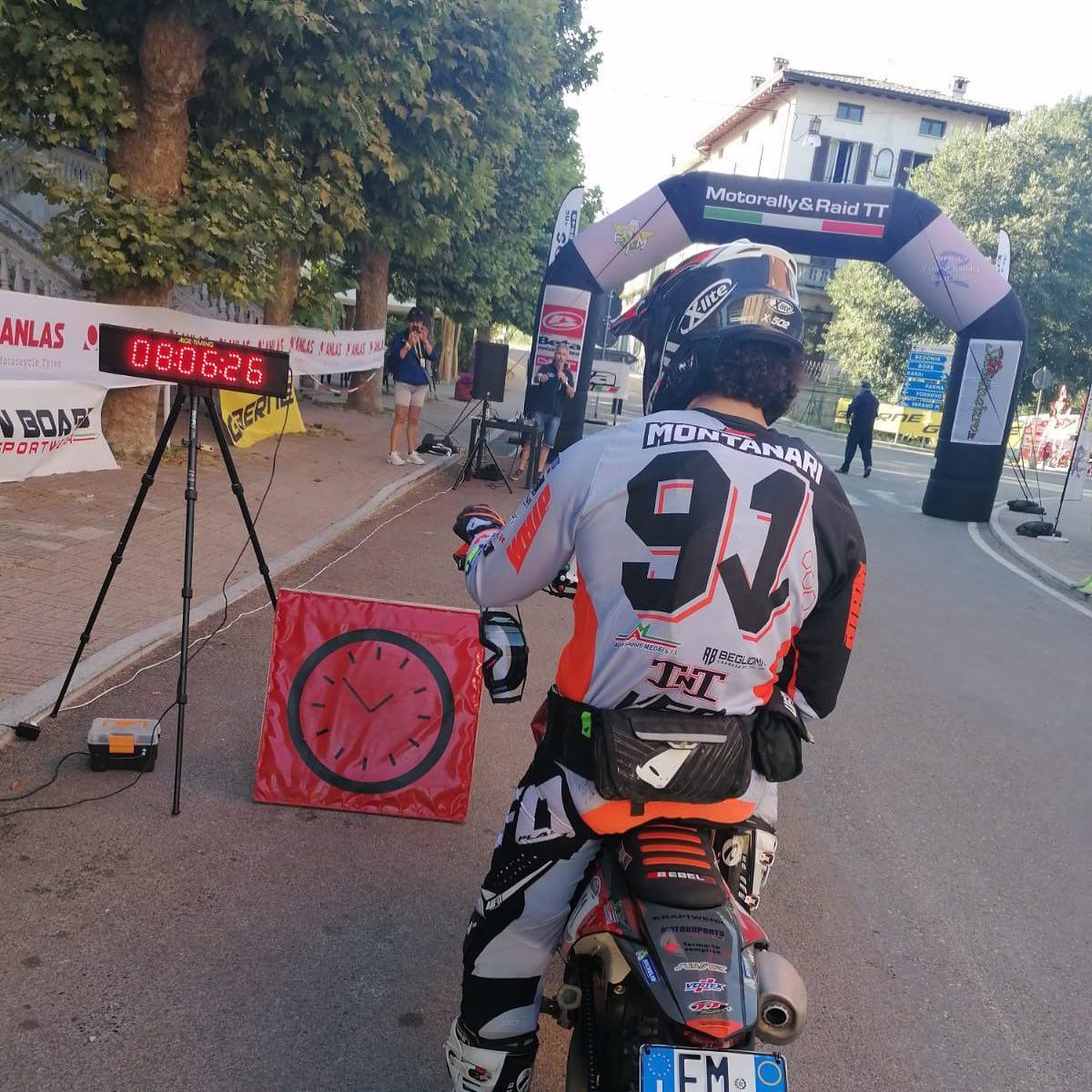 Motorally: Tommaso Montanari vince la sesta prova del Campionato Italiano Motorally