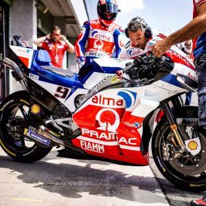MotoGp: Seconda fila per Danilo Petrucci ma il feeling è buono, di Roberto Pagnanini