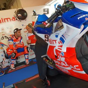 MotoGp: Danilo Petrucci 6° dopo la prima giornata di prove a Misano, di Roberto Pagnanini