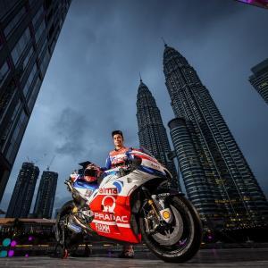 MotoGp: Bene Petrucci nelle prime prove del GP della Malesia, di Roberto Pagnanini
