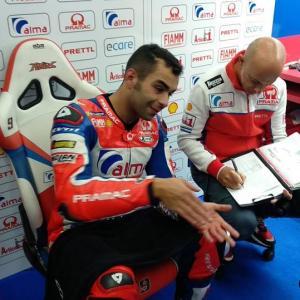 MotoGp: Petrucci primo nella FP3, per lui Q2 diretta, di Roberto Pagnanini