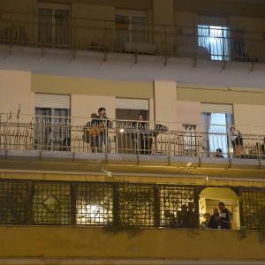I concerti dai balconi .... foto ( A. Mirimao )
