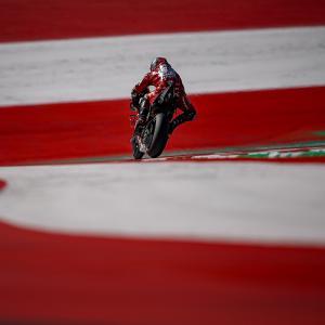 MotoGp: Petrucci, Q2 con caduta e quarta fila, di Roberto Pagnanini