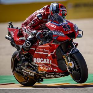 MotoGp: Qualifiche difficili per Petrucci, quinta fila per lui ad Aragon, di Roberto Pagnanini