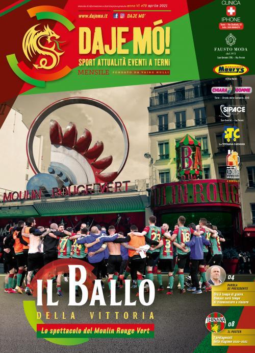 Il Ballo della vittoria – Lo spettacolo del Moulin rouge vert