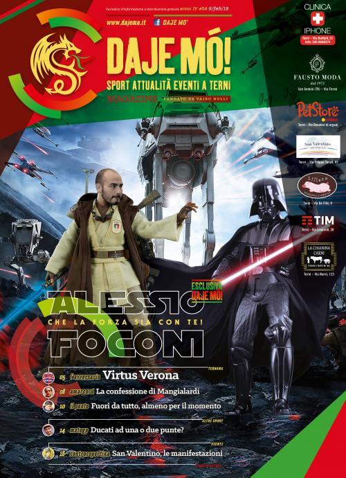 Alessio Foconi: che la forza sia con te!