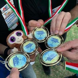 Paracadutismo, la PaniK Evolution è Campione d'Italia categoria intermedi