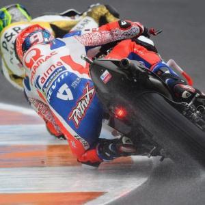 MotoGp: Per Danilo Petrucci a Valencia una caduta al settimo giro, di Roberto Pagnanini