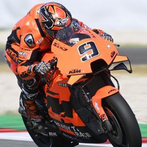 MotoGp: Danilo Petrucci, la sua è la ultima KTM sulla griglia di Barcellona