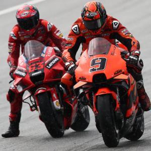 MotoGP: Petrucci dodicesimo, occasione sprecata