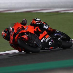 MotoGp: Qatar2, la KTM sembra migliorare, Petrucci ancora no