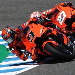 MotoGp: Petrucci termina quattordicesimo il GP di Spagna
