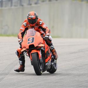 MotoGp: Al Sachsenring Petrucci finisce surfando