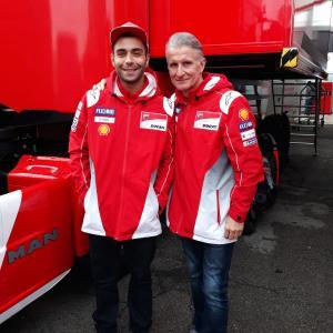 MotoGp: La prima foto di Danilo Petrucci in