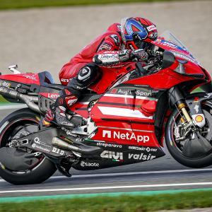 MotoGp: Petrucci archivia la prima di Valencia con un decimo posto