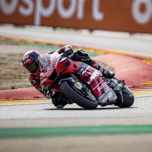 MotoGp: Danilo Petrucci dall'ultima fila alla Top10 ad Aragon