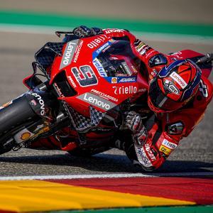 MotoGp: Petrux ottavo in prova ad Aragon