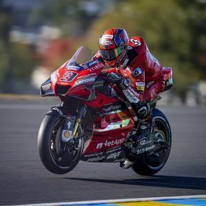 MotoGp: Ancora una prima fila per Petrucci a Le Mans