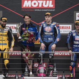 Il team ufficiale del GRT Yamaha WorldSSP Lucas Mahias ha difeso il  titolo di campione del mondo