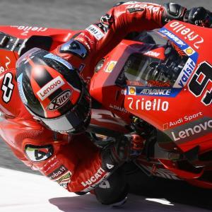 MotoGp: Petrucci non brilla ma torna terzo nel mondiale, di Roberto Pagnanini