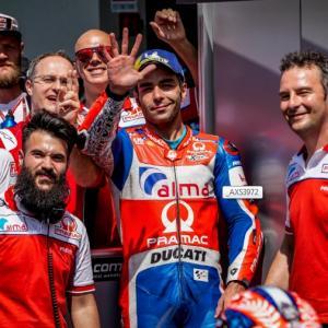 MotoGp Mugello: Petrucci in seconda fila con il quinto tempo - di Roberto Pagnanini